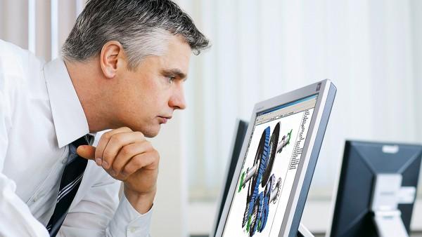 Schaeffler legger stor vekt på samarbeid med partner, for eksempel ved beregning og design av lagrene.