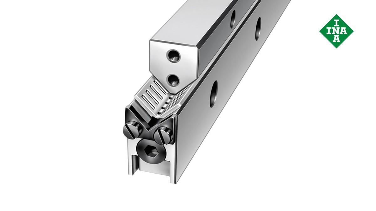 Schaeffler lineærføringer: M-/V-styreskinner med vinkelbånd