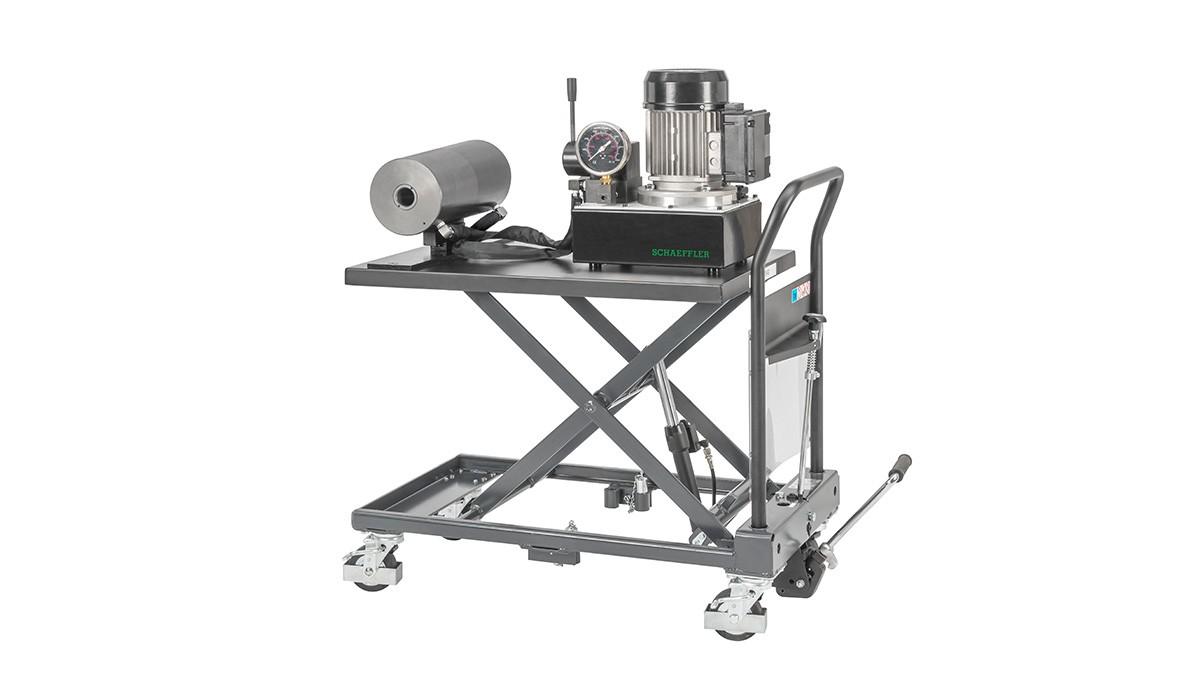 Schaeffler vedlikeholdsprodukter: Mobil hydraulikkanordning
