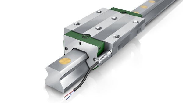 Monorail guidance systems with Schaeffler DuraSense regulate their own lubricant requirements.